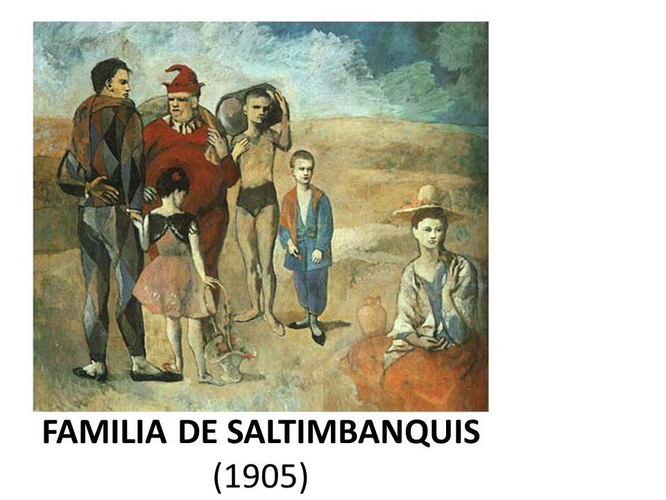 FAMILIA DE SALTIMBANQUIS (1905)