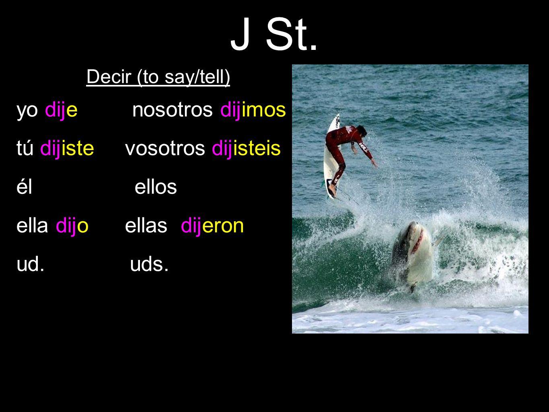 J St.