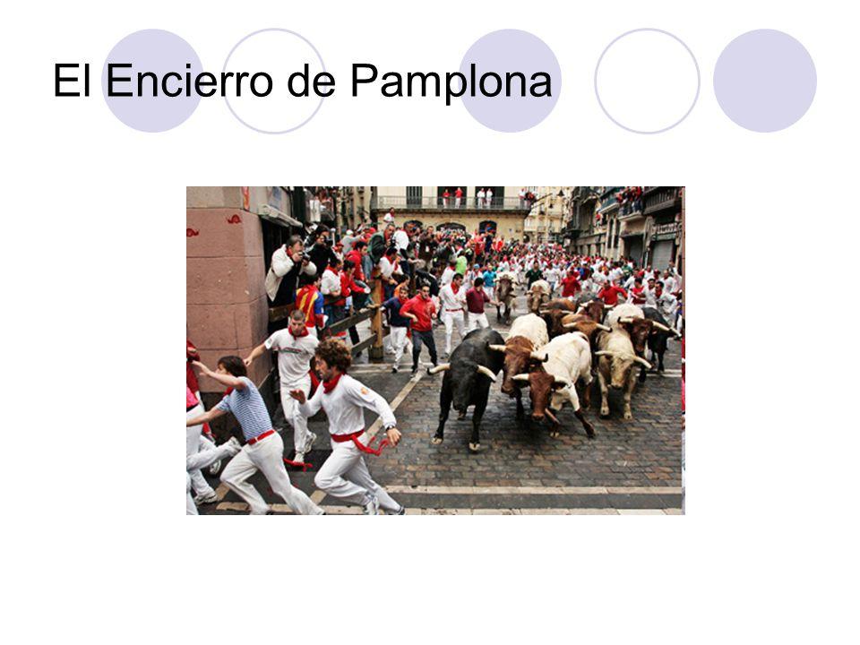 El Encierro de Pamplona