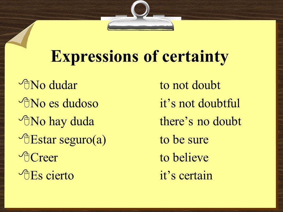 Subjunctive v.