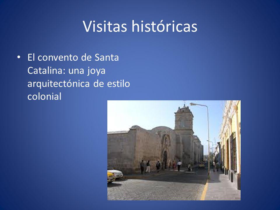 Visitas históricas El convento de Santa Catalina: una joya arquitectónica de estilo colonial