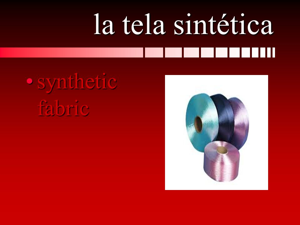 la tela sintética synthetic fabricsynthetic fabric