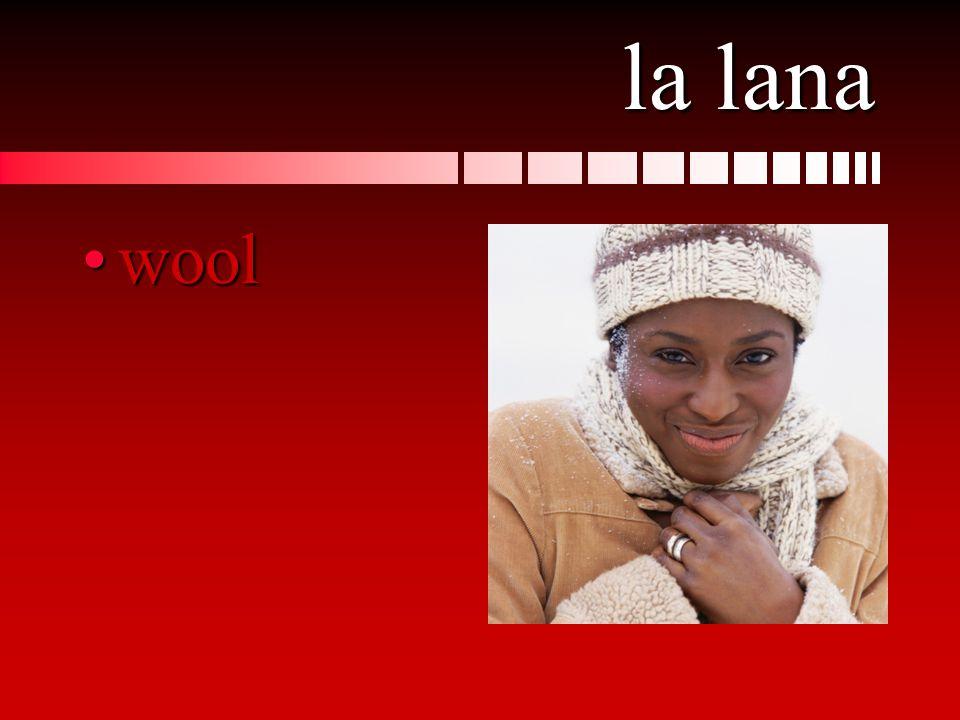 la lana woolwool