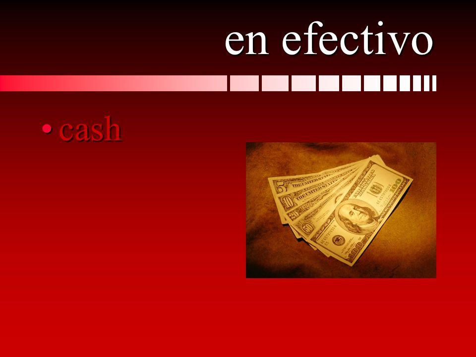 en efectivo cashcash