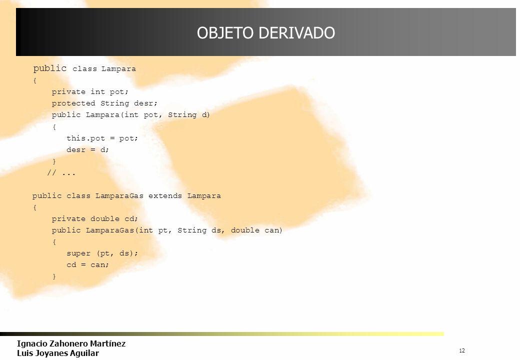 13 Ignacio Zahonero Martínez Luis Joyanes Aguilar SUSTITUCIÓN/REDEFINICIÓN Los atributos y métodos definidos en la superclase se heredan por las subclases.