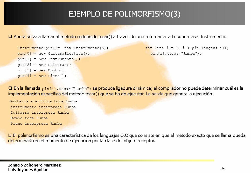 Ignacio Zahonero Martínez Luis Joyanes Aguilar EJEMPLO: CLASES BEBIDA
