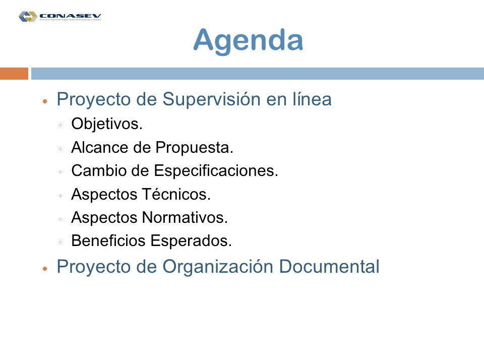 Objetivos Asegurar el cumplimiento de la normativa - Reglamento de Agentes de Intermediación Oportunidad en registro de ordenes y formulación de propuestas Trazabilidad de eventos realizados para seguimiento y control.