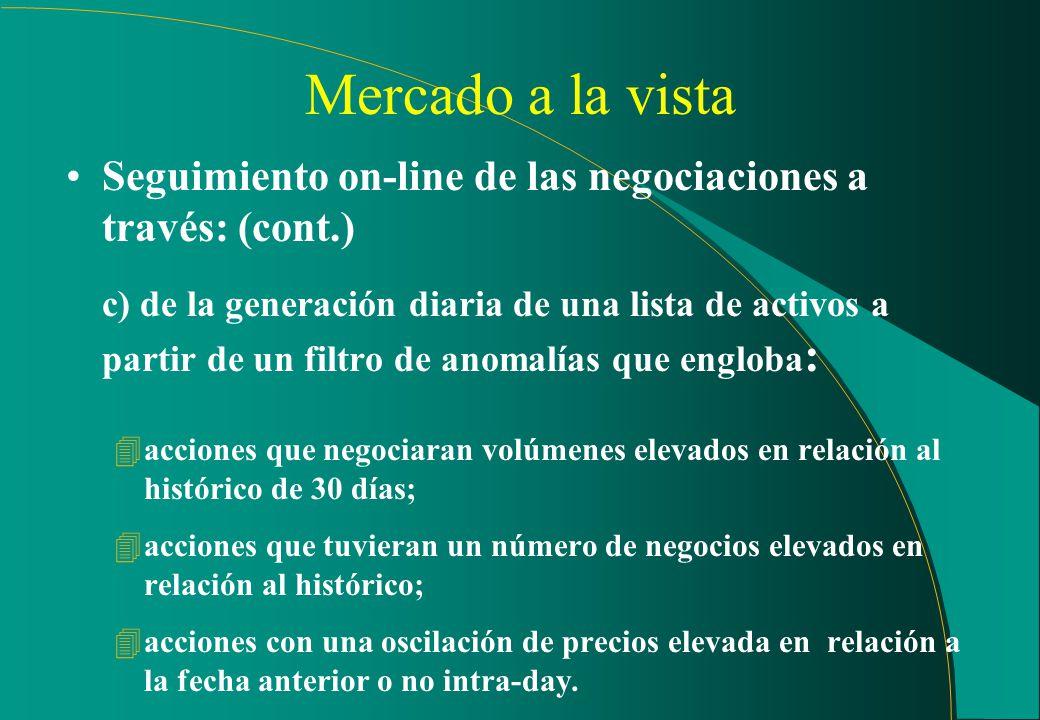 Sistema de Información Ventana con atualización on-line
