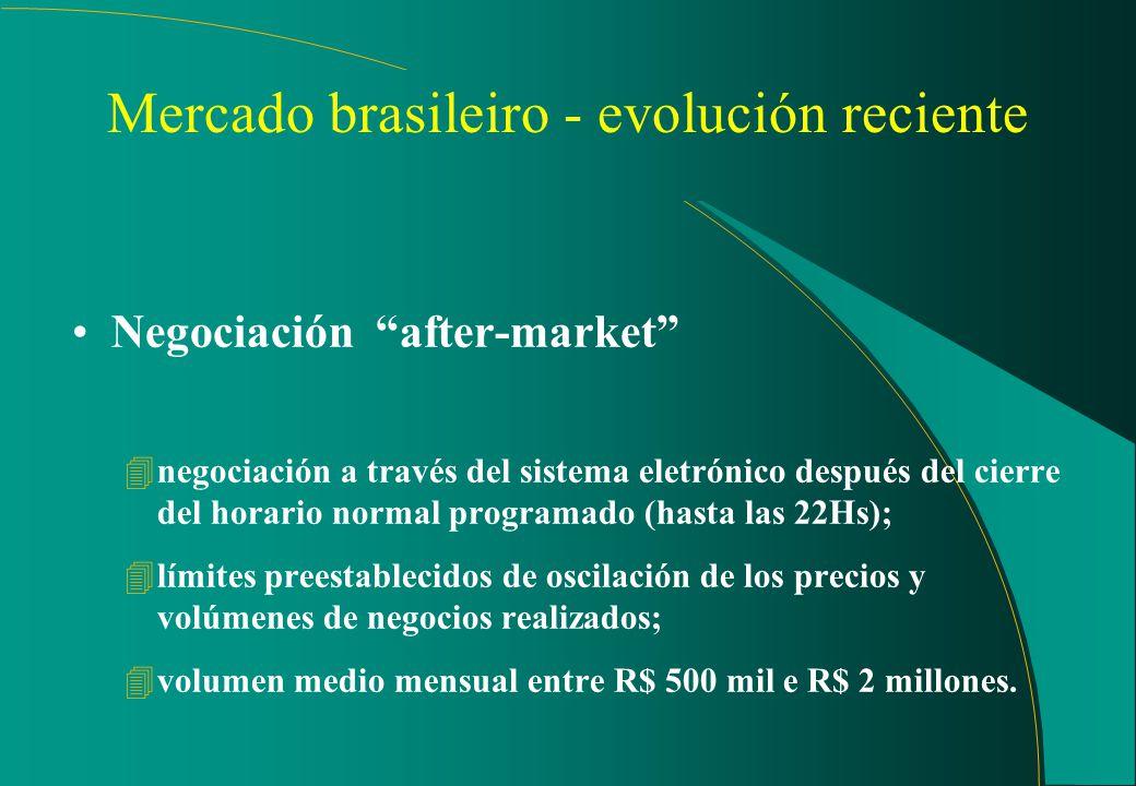 Mercado futuro de índice Bovespa Seguimiento off-line: (cont.) 4este trabajo puede ser ampliado a períodos más extensos y con el grado de detalle dese