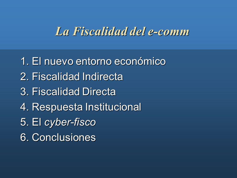 Fiscalidad del comercio electrónico II Jornadas Iberoamericanas sobre Tecnología y Mercados de Valores Barcelona, 5 de abril de 2001 Joan Hortalà i Va