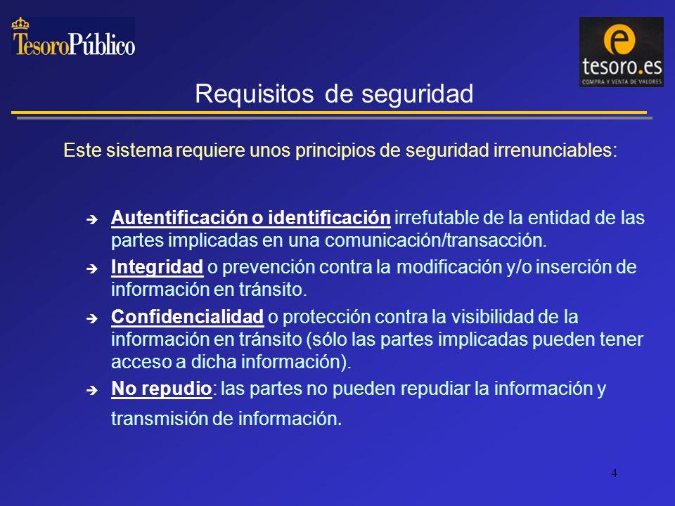 5 Seguridad de la información en tránsito: mediante técnicas criptográficas se puede desarrollar la protección necesaria.