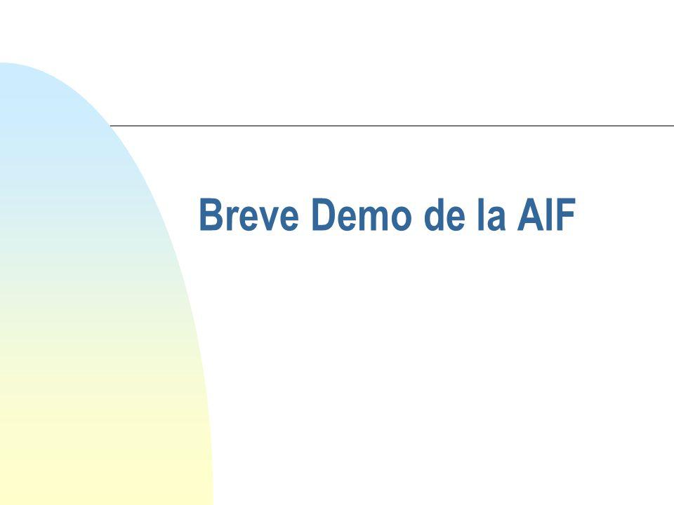 Breve Demo de la AIF