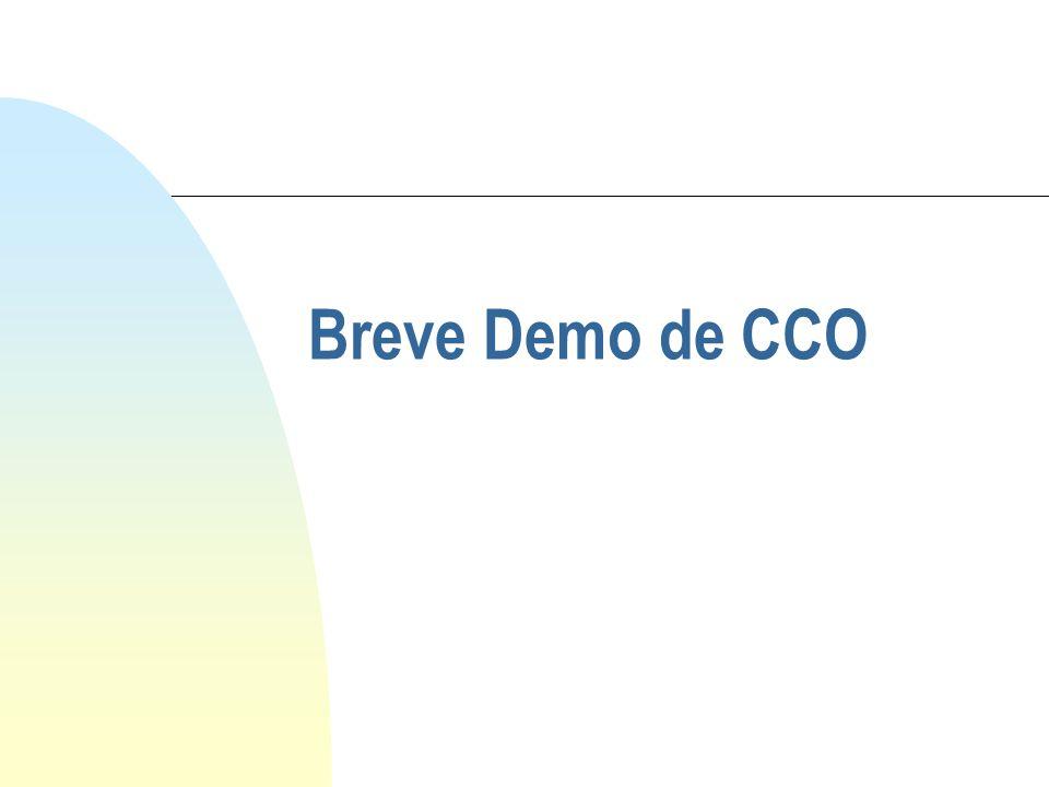 Breve Demo de CCO
