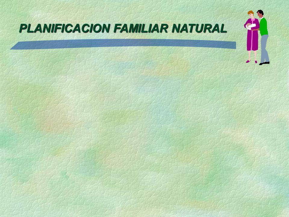 PLANIFICACION FAMILIAR NATURAL
