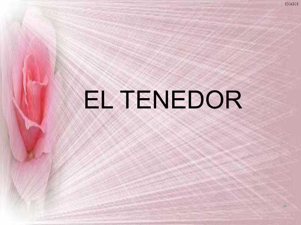 EL TENEDOR SNAS18