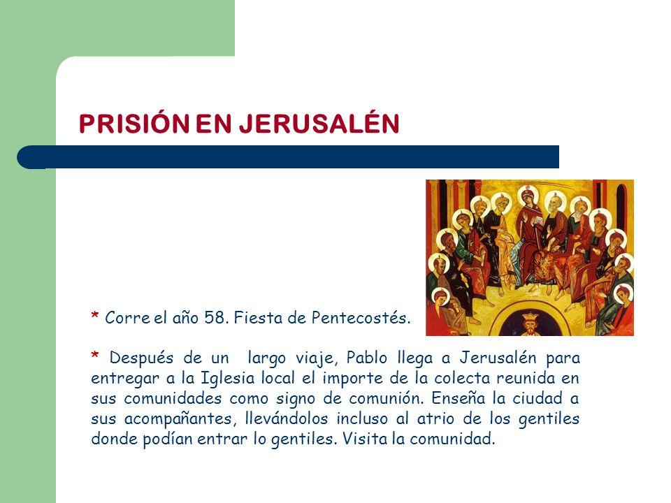 SERIE I VIDA DE SAN PABLO 10 – Prisión en Jerusalén