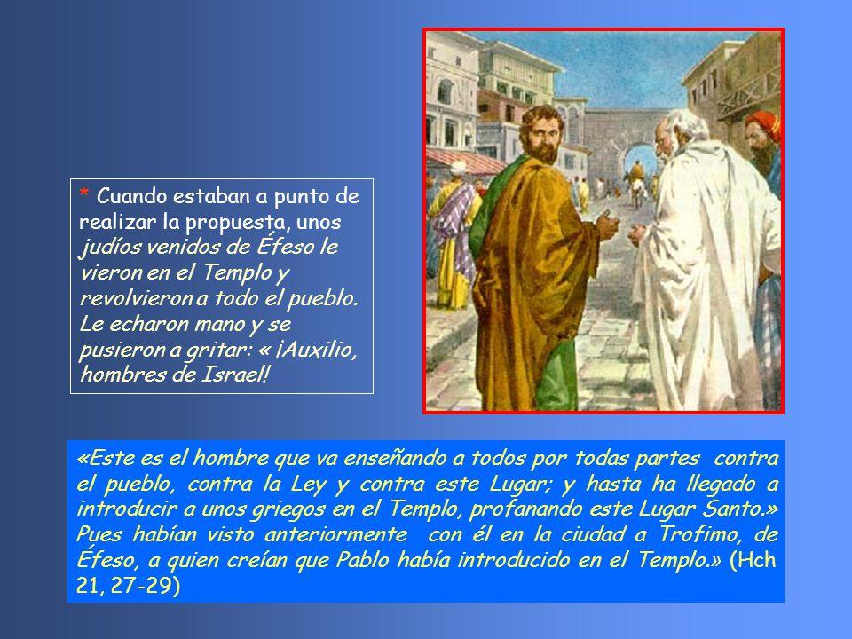 Pablo se defiende afirmando que lo que anuncia no es más que la última consecuencia de la fe en la resurrección que defienden los fariseos.