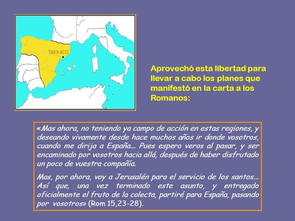 VIAJE A HISPANIA Y MARTIRIO EN ROMA * La tradición es firme en afirmar que Pablo murió mártir en Roma a partir del año 62, pero no tenemos más datos históricos firmes sobre lo que sucedió.