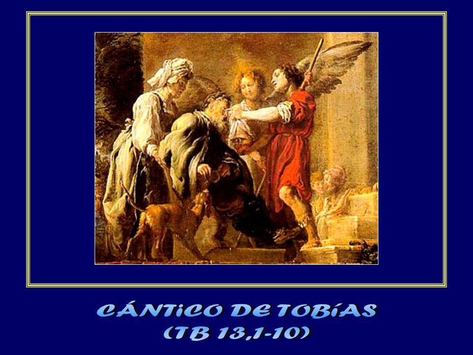 Y o le doy gracias en mi cautiverio, anuncio su grandeza y su poder a un pueblo pecador.
