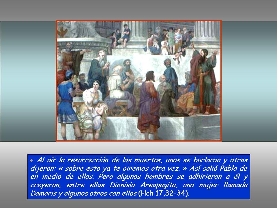 1) Introducción: aludiendo a un altar dedicado al Dios desconocido, afirma que va a anunciar a este Dios. 2) Existe un solo Dios, creador y trascenden