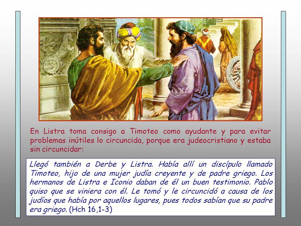 Recorrió Siria y Cilicia consolidando las Iglesias. (Hch 15,41)