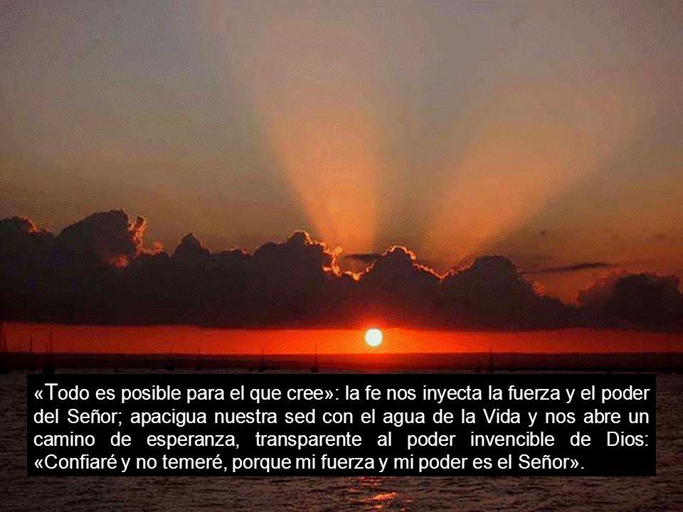 «Tañed para el Señor, que hizo proezas, anunciadlas a toda la tierra; gritad jubilosos, habitantes de Sión: