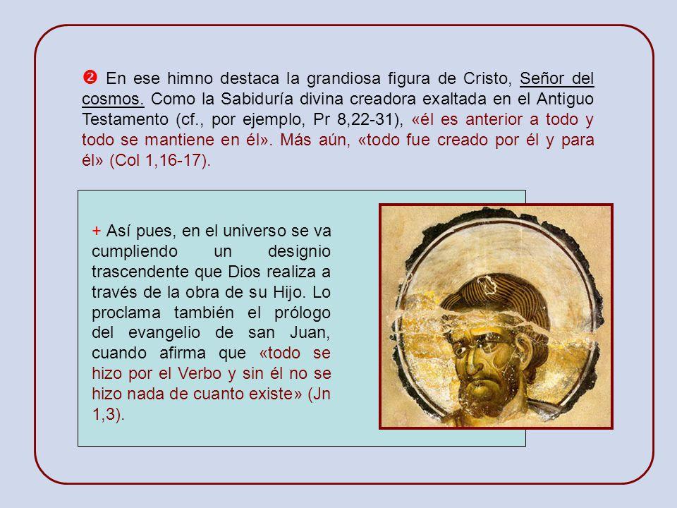 Recitamos este admirable himno cristológico de la Carta a los Colosenses en la liturgia de Vísperas de cada una de sus cuatro semanas. + Muchos estudi