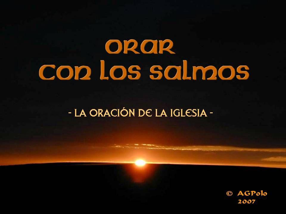 Gloria a Dios para siempre, goce el Señor con sus obras, cuando El mira la tierra, ella tiembla; cuando toca los montes, humean.