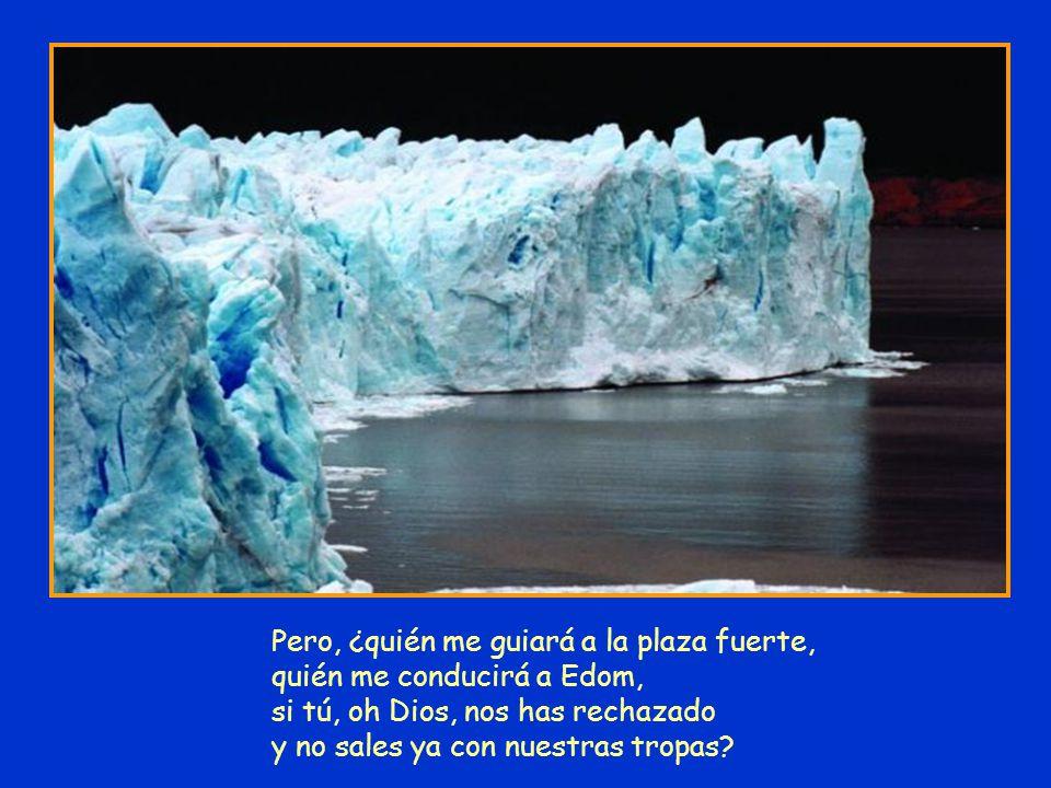 Pero, ¿quién me guiará a la plaza fuerte, quién me conducirá a Edom, si tú, oh Dios, nos has rechazado y no sales ya con nuestras tropas?