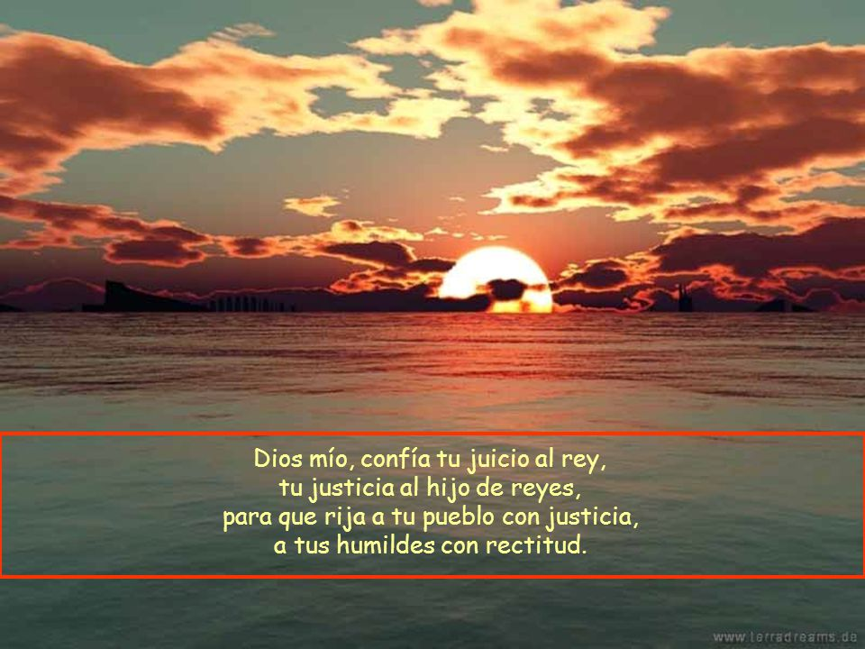 Bendito sea el Señor, Dios de Israel, el único que hace maravillas; bendito por siempre su nombre glorioso; que su gloria llene la tierra.