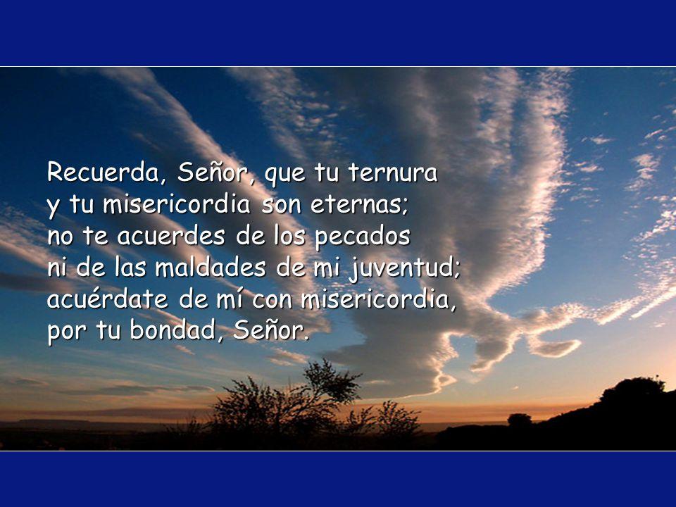 S eñor, quien espera en ti no queda defraudado, por eso, levantamos nuestras almas, a fin de que nos lleves por el camino de la salvación.