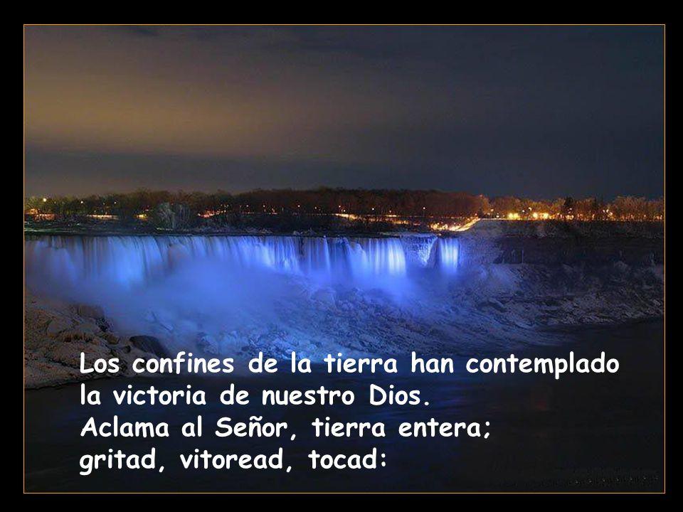 El Señor da a conocer su victoria, revela a las naciones su justicia: se acordó de su misericordia y su fidelidad en favor de la casa de Israel.