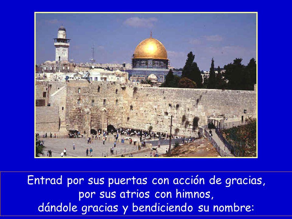 Sabed que el Señor es Dios: que El nos hizo y somos suyos, su pueblo y ovejas de su rebaño.
