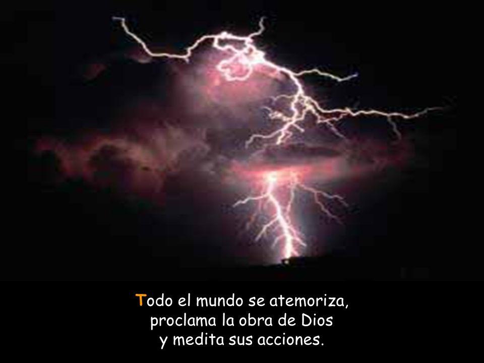 Pero Dios los acribilla a flechazos, por sorpresa los cubre de heridas; su misma lengua los lleva a la ruina, y los que lo ven menean la cabeza.