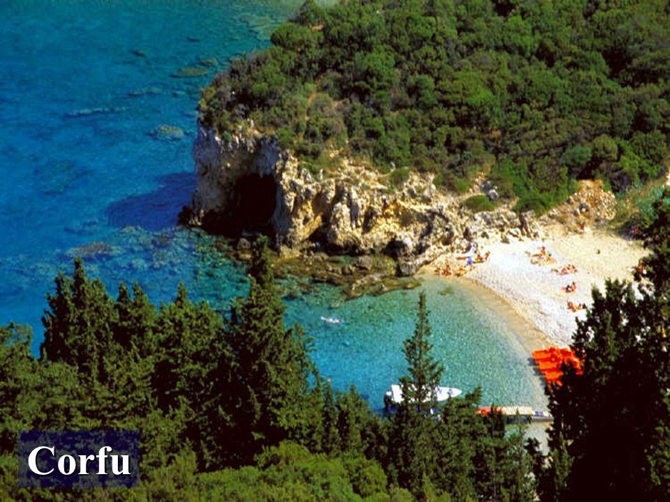 Las Islas Jónicas (Iónioi Nísoi) son un archipiélago situado frente a las costas noroccidentales de la Grecia continental y peninsular, sobre el Mar Jónico.