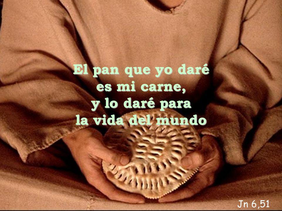 a a El pan que yo daré es mi carne, y lo daré para la vida del mundo Jn 6,51