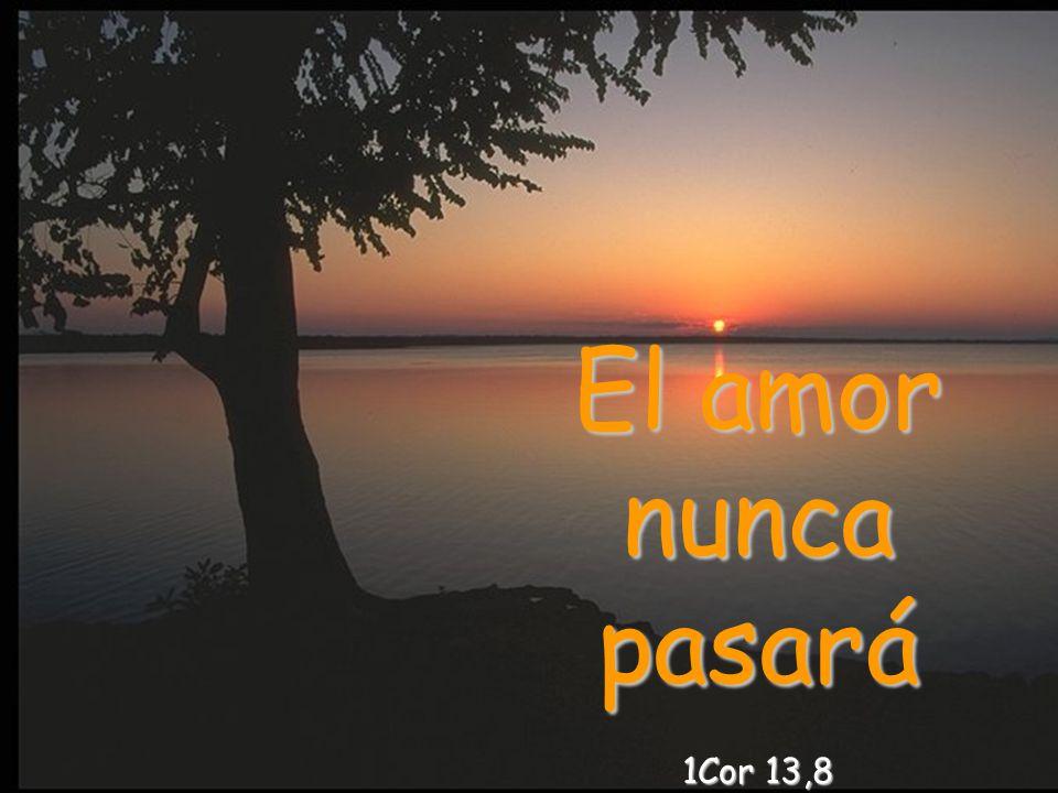 Dios es amor 1Jn 4,8 Rom 8,39 ¿Quién podrá apartarnos del amor de Dios que encontramos en Cristo Jesús?