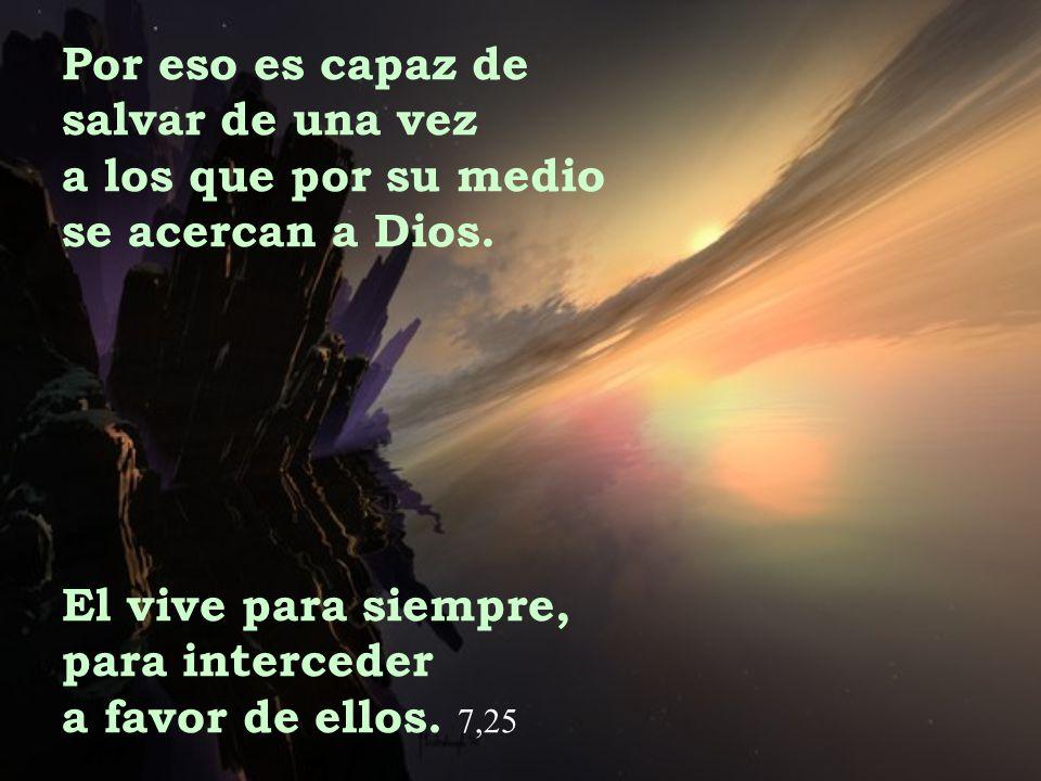 El escogió la cruz en vez de la felicidad que se le ofrecía; no tuvo miedo a la humillación y ahora está sentado a la derecha del trono de Dios.