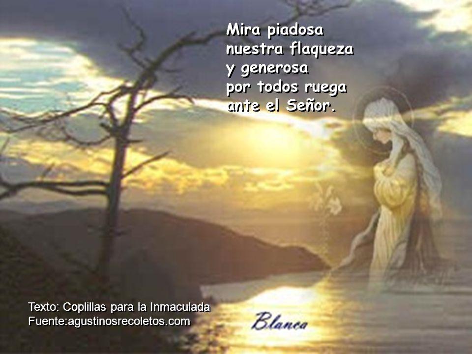 Muestra, Señora ser nuestra Madre, consoladora del que te abre su corazón.