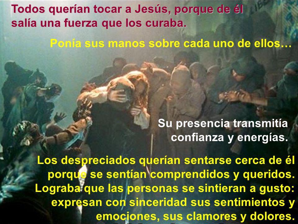 Jesús pasaba mucho tiempo compartiendo con ellos Las multitudes esperaban y buscaban a Jesús, continuamente.