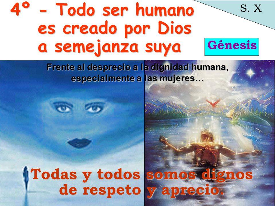Génesis S.X odas Todas y todos somos dignos de respeto y aprecio.