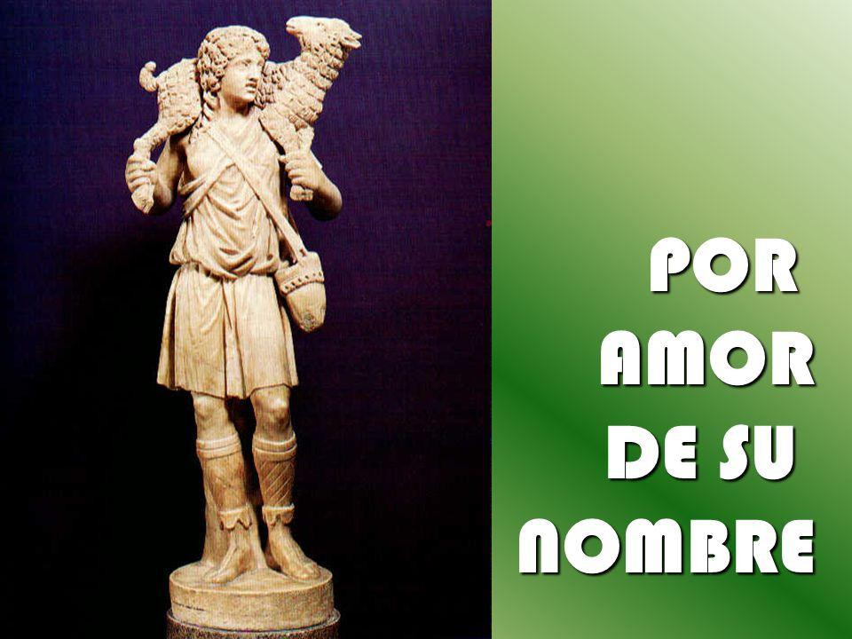 PORAMOR DE SU NOMBRE