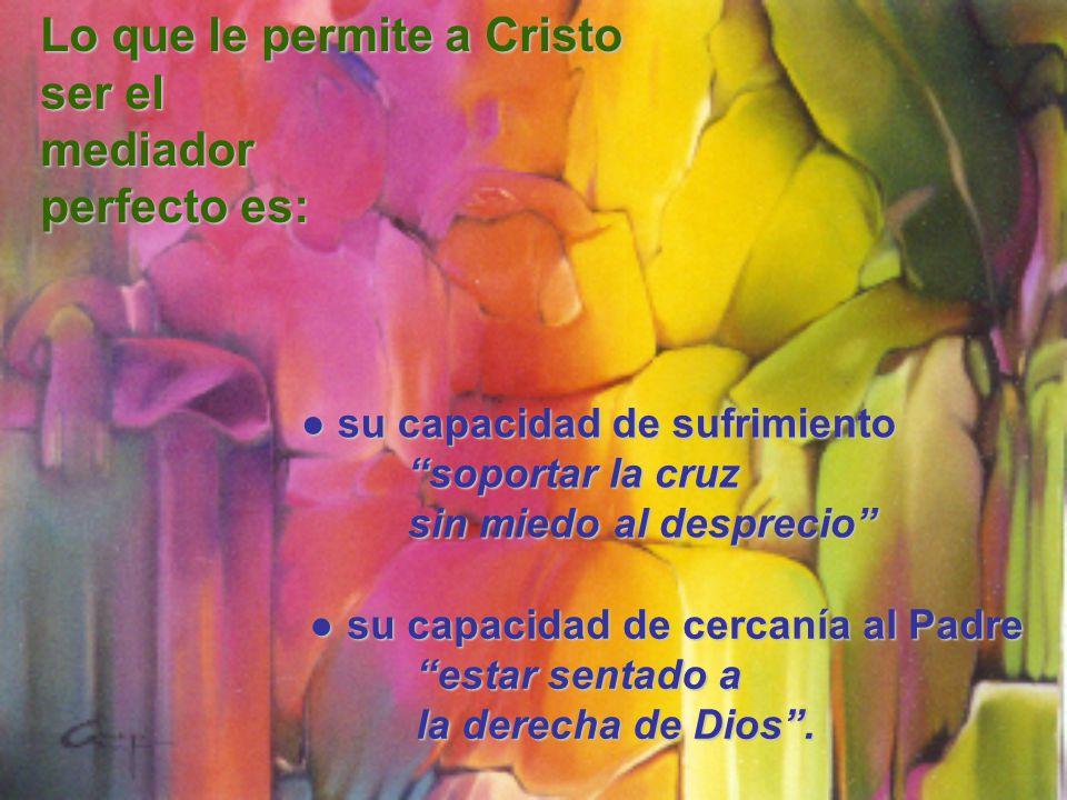 su capacidad de cercanía al Padre su capacidad de cercanía al Padre estar sentado a la derecha de Dios.