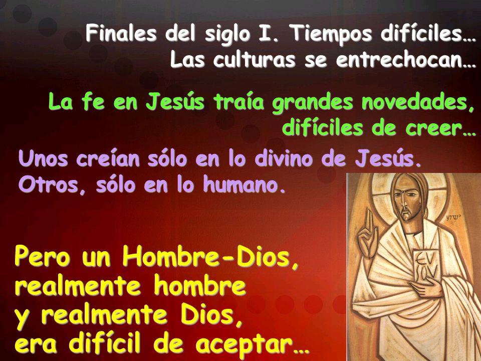 igual a Dios Trataban de matarlo, porque se hacía a sí mismo igual a Dios, al llamarlo su propio Padre.