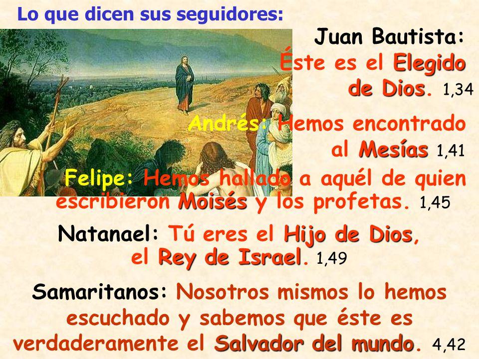 Hijo de Dios Marta: Tú eres el Cristo, el Hijo de Dios, el que tenía que venir al mundo.