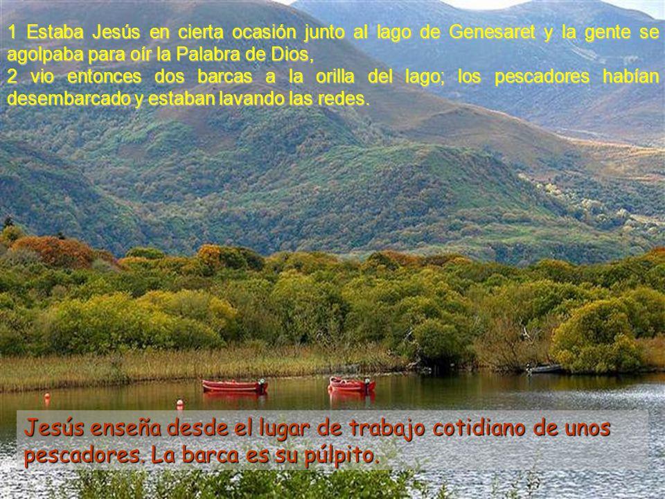 Creer es saberse enviad@s a ser libertadores como Jesús Lucas 5, 1-11 V domingo Tiempo ordinario –C- 4 de febrero de 2007