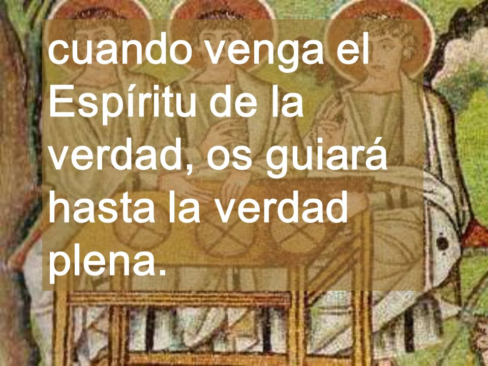 En cada Pascua iréis descubriendo el Misterio Dios derrama constantemente su AMOR en vuestros corazones (2a lectura) Calendario pascual