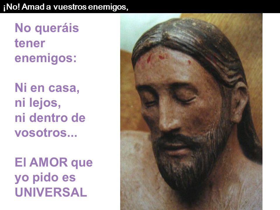 Pues, si amáis sólo a los que os aman, ¿qué merito tenéis? También los pecadores aman a los que los aman. Y si hacéis bien sólo a los que os hacen bie