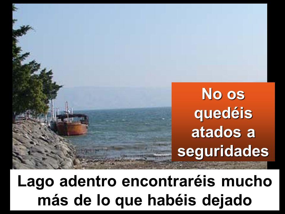 Cuando acabó de hablar, dijo a Simón: Rema mar adentro, y echad las redes para pescar.