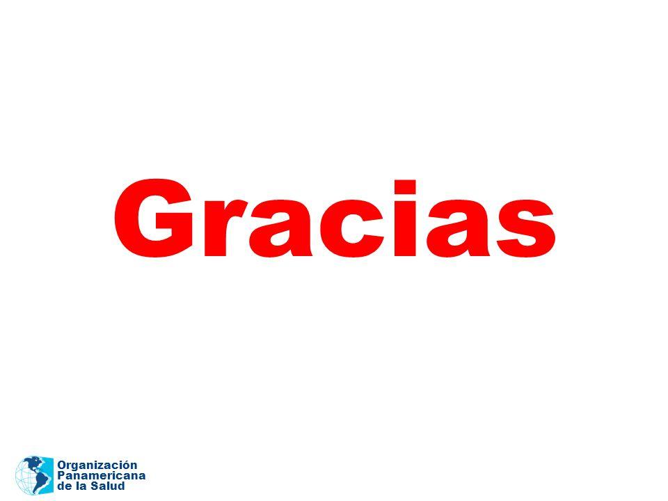Organización Panamericana de la Salud Gracias